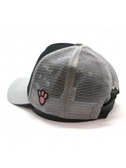 Gorra de rejilla PANTERA ROSA negro/gris