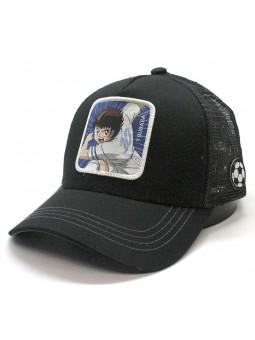 Captain TSUBASA black Trucker Cap Capslab