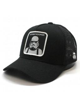 STORMTROOPER black STAR WARS trucker Cap