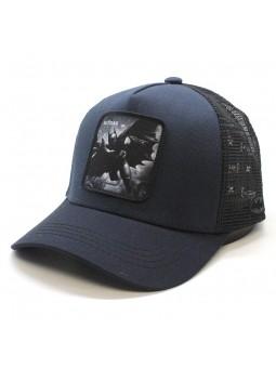 Gorra de rejilla BATMAN marino/negro