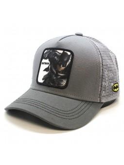 Gorra de rejilla BATMAN gris