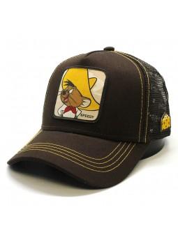 Gorra de rejilla Speddy GONZALES Looney Tunes marrón