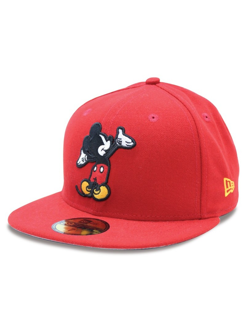 MICKEY MOUSE Character Wyb 59FIFTY New Era Disney red Cap