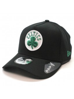 Boston CELTICS NBA Black Base Diamond New Era black Cap