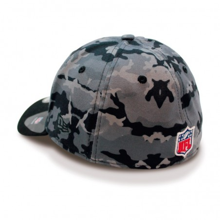 Oakland RAIDERS 39THIRTY Camo Team NFL New Era grey Cap
