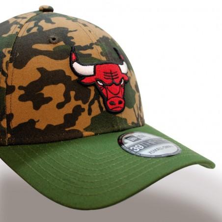 Chicago BULLS 39THIRTY Camo Team NBA New Era camouflage Cap