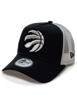 Gorra de rejilla Toronto RAPTORS NBA team essential New Era negro/gris