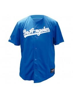 Camiseta Beisbol Los Angeles DODGERS MLB Majestic azul royal