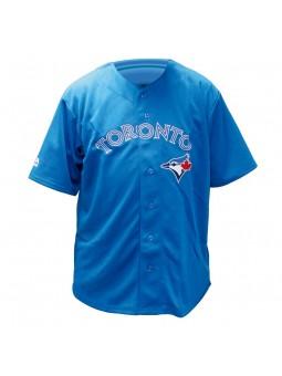Toronto BLUE JAYS MLB Majestic royal blue Home Jersey