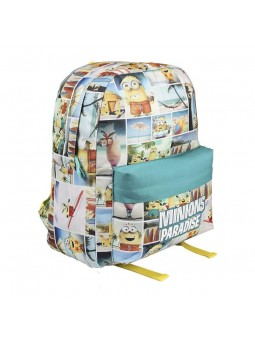 Backpack MINIONS Paradise green