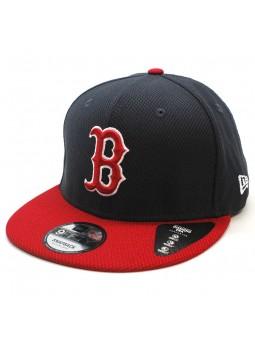 Boston Red Sox MLB Diamond New Era 9fifty navy red cap