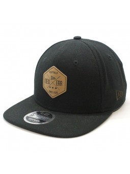 New Era Canvas Hex 9fifty black cap
