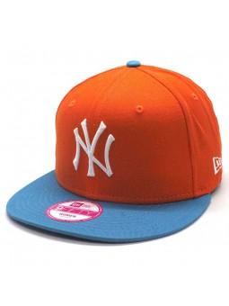 New York Yankees MLB New Era 9forty turquoise orange Cap Women