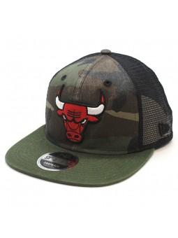 Gorra Chicago Bulls NBA snapback trucker New Era camuflaje