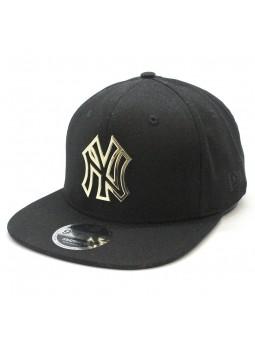 Gorra de MLB Yankees Nueva York de New Era Badge Snapback negro