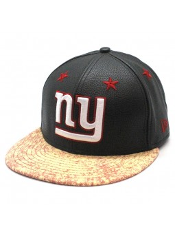 New York Giants NFL Leather Roller New Era 9fifty Cap