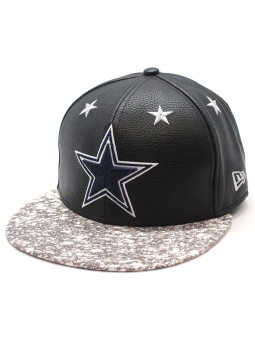 Dallas Cowboys NFL Leather Roller New Era 9fifty Cap