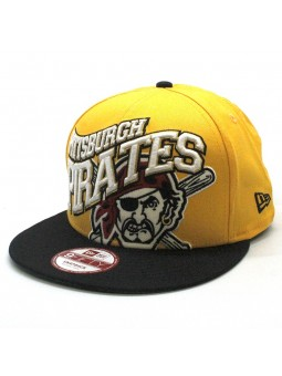 Pittsburgh Pirates MLB Swoopty Snap New Era 9fifty yellow cap