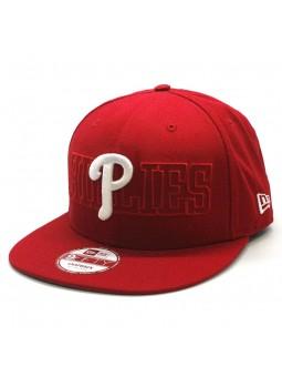 New Era Red Philadelphia Phillies Baseball Cap 9fifty