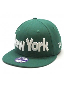 Gorra de Niño New York Yankees de New Era verde snapback