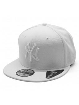 Gorra para niños New York Yankees Diamond Era Contrast New Era blanco
