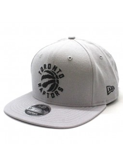 Toronto Raptors NBA Chainstitch snapback New Era gray cap