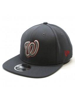 Washington Nationals MLB Tone Tech Redux New Era 950 gray cap