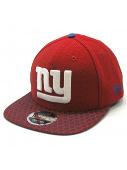 Gorra New York Giants NFL Sideline snapback New Era roja