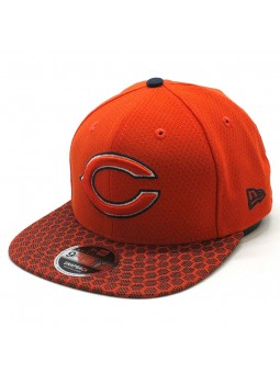 Gorra Chicago Bears NFL Sideline snapback New Era naranja