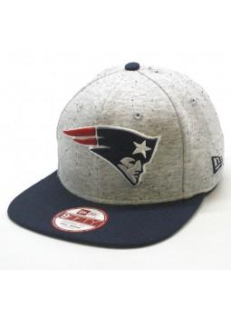 New England Patriots NFL Jersey Team Speckle New Era 9fifty gray cap