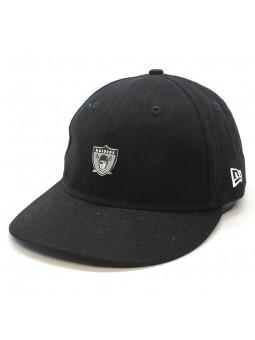 Gorra Oakland Raiders NFL Badge LP9fifty negro New Era