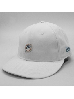 Gorra Miami Dolphins NFL Badge LP9fifty blanco New Era