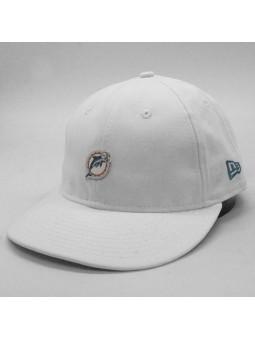 Miami Dolphins NFL Badge LP9fifty white New Era cap