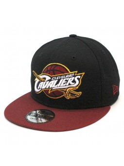 Gorra Cleveland Cavaliers NBA Black Base 9fifty New Era negro burdeos