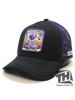 Gorra FREEZER Dragon Ball negro/lila de rejilla Capslab