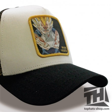 MAJIN VEGETA Dragon Ball white/black Trucker Cap