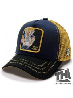 MAJIN VEGETA Dragon Ball navy/black/yellow Trucker Cap