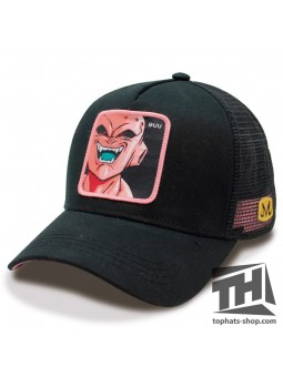 Gorra BUU Dragon Ball rejilla negro
