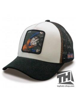 SON GOTEN DRAGON BALL White / Black Trucker Cap Capslab