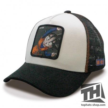 GOTEN DRAGON BALL White/Black Trucker Cap