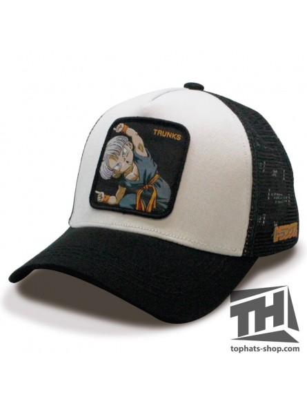 TRUNKS DRAGON BALL White/Black Trucker Cap