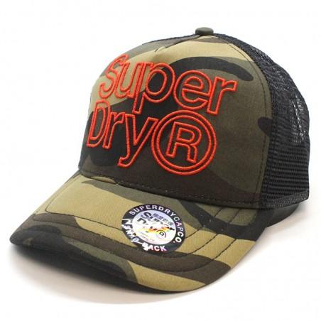 Lineman SUPERDRY trucker camouflage Cap