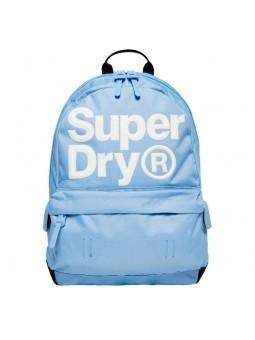SUPERDRY Edge Montana light blue backpack