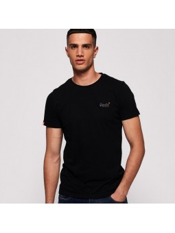 Camiseta SUPERDRY Orange Label vintage negro
