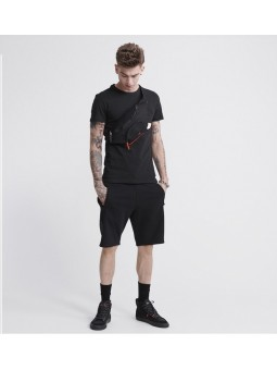 Surplus Goods SUPERDRY black T-Shirt