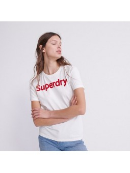 Flock SUPERDRY natural women T-Shirt