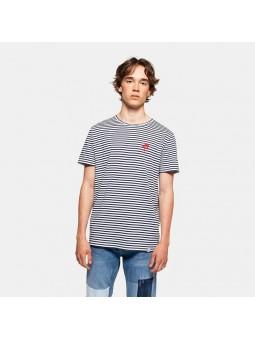Camiseta REVOLUTION DOLPHIN 1166 blanco/marino