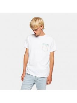 Camiseta REVOLUTION TIE 1185 blanco