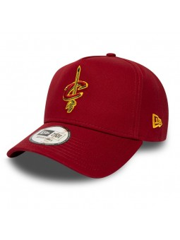 Gorra Cleveland CAVALIERS NBA Basic Aframe New Era granate