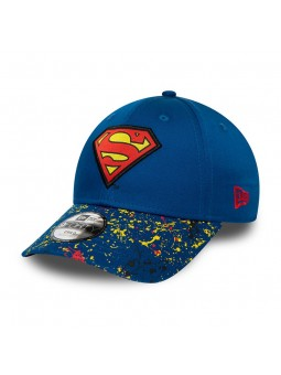 SUPERMAN Character 9FORTY New Era blue Youth Cap